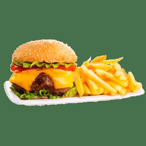 hamburgaretallrik
